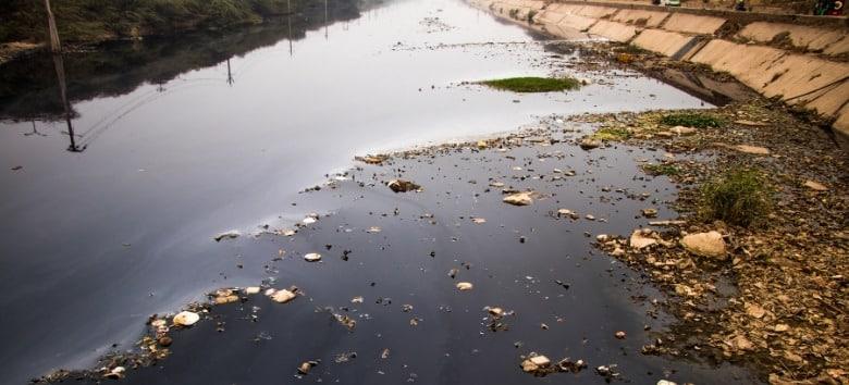 Rios poluídos