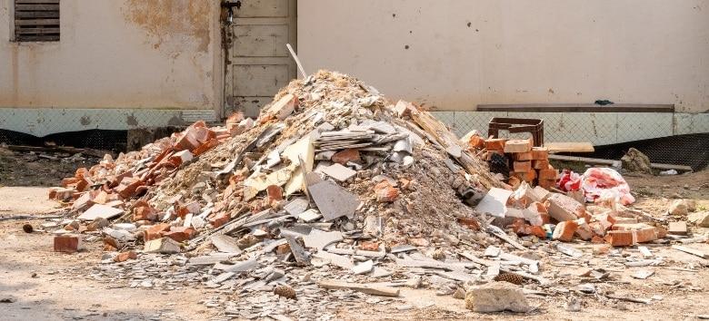 Resíduos de construção