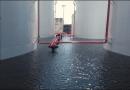 Impermeabilizantes utilizados em tanques de distribuidora de petróleo e derivados