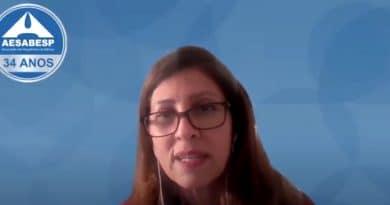 Entrevista com Viviana Borges, Presidente da AESABESP (Associação dos Engenheiros da SABESP)