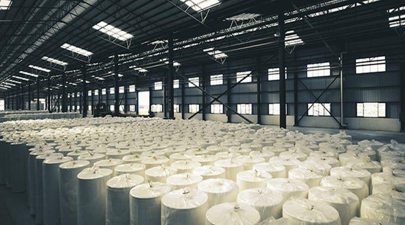 Motobombas da Itubombas para testes hidrostáticos em tubulações de planta de celulose.